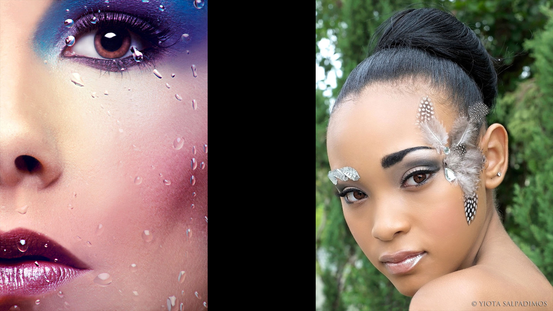 3D makeup hairstyles