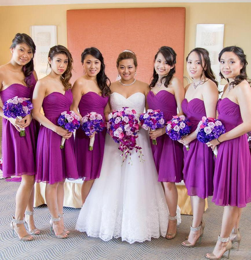 bridesmaids hairstyles