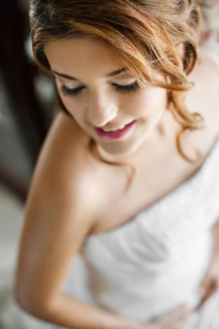 wedding bangs