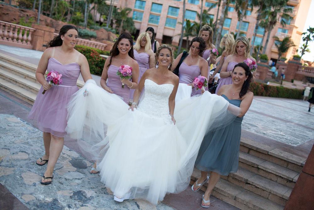 Atlantis weddings makeup artist